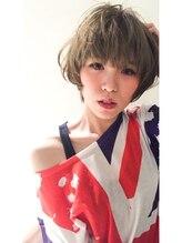 モネモネ(mone*mone)『Hair mone mone』☆クールショートボブ☆