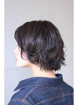 西葛西 Hair ショートウルフ L043686487 アンドヘアー Hair の