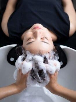 ヘアセット シャンプーアンドスパ専門店 ウルー(Uruu)の写真/シャンプーをサロンで行う新習慣!《uruu》であなただけのオーダーメイドのシャンプーを体験しませんか♪