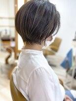 モリオフロムロンドン成増3号店【morio成増/ムラマツ】髪質改善 スリークショート ハイライト