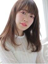 アグ ヘアー ドレス 喜久田店(Agu hair dress)ちょっぴりスキのあるズルカワほつれロング