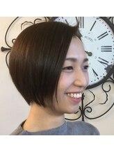 ヘアージン 野々市(hair Jin)カーキボブ