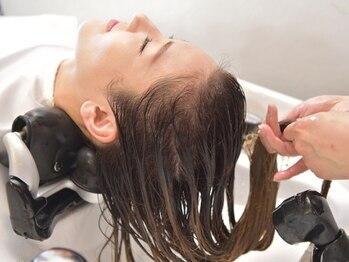 ビクトヘアー(Vict hair)の写真/【oggiooto髪質改善×ヘッドスパ】話題のoggi otto使用☆トリートメントとのセットでツヤのある髪質に♪