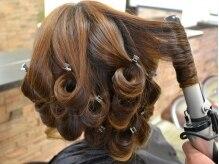 ヘアーメイク フラップ(hair make flap)の雰囲気(コテパーマはカールを1つ1つ作るのでかかりすぎがありません)