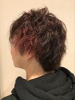 ヘアーリゾートラシックアールプラス(hair resort lachiq R+)《R+》アクセントレッドカラー