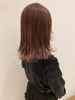 モッズヘア 仙台PARCO店(mod's hair)【志賀】1ブリーチのペールピンク