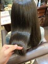 キャラ 池袋本店(CHARA)エイジング毛に髪質改善で艶めく美髪【キャラ池袋/CHRA池袋】