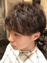 バロン 新宿店(baLon.)優しさ溢れるメンズクールユルパーマ