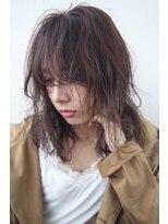 フェス カットアンドカラーズ(FESS cut&colors)『FESS 鶴丸』【ラベンダーベージュ×伸ばしかけ】くせ毛風ヘア