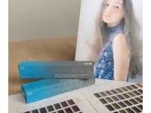 アプリエの原点「天使の透明感」が出せる青い箱のアプリエカラー剤シリーズです。