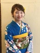ヘアメイク イアラ 高柳(hair make iara)振袖☆着物ヘアセット