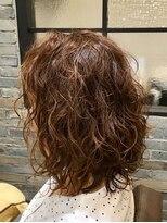 アモング(a`mon gou`t hair make)フワフワパーマ