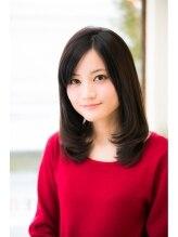 アンテナ ヘアリゾート 白金台店(ANTEnNA HairResort)黒髪大人癒し系スタイル