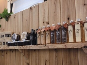 ヘアーメイクゼロ 坂戸駅前店(hairmake zero)の写真/【坂戸】hairmake zeroでは業界トップブランド商品を多数導入!ワタシに相性の良いものを試して&見つけて