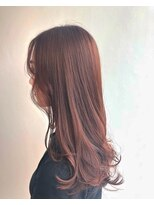 ヘアメイク オブジェ(hair make objet)autumn pink ヨジャ
