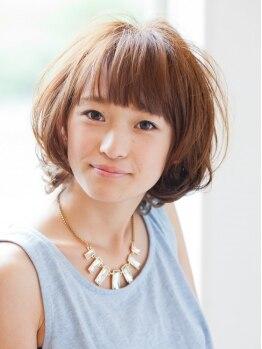 ルネットヘアー(LUNETTES HAIR)の写真/デザインの基本はカットにあり!サロンを出た後でもシンプルなスタイリングでキマるstyleをご提案♪