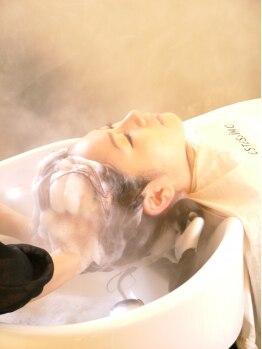 フランクプロボー(FRANCK PROVOST)の写真/【南イオン2F】個室でゆったり施術を受けられる癒しの極上ヘッドスパ♪《カット+スパ¥10800》がイチオシ★