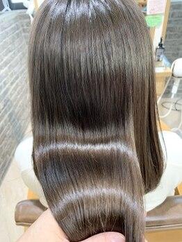 ネオリーブアイム(Neolive aim)の写真/TV・SNSで話題沸騰!!髪質改善☆酸熱トリートメント☆ダメージ補修&クセを抑え究極の美髪に♪