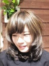 ヘアガーデン カシェット(Hair garden Cachette)夏先取りアンニュイスタイル