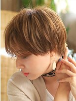 カイノ イオンモール大和郡山店(KAINO)【KAINO】大人かわいい 前下り耳かけショート トランクスヘア