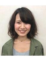 アオタニ ヘア 東向日店(aotani hair)『aotani』ボブ×ふわっとパーマ