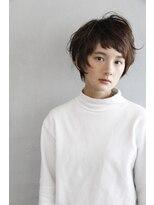 N/92co. オン眉×ショートヘア