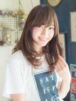 アリシアヘアー(ARISHIA hair)髪質改善 抜け感ヘア セミディ 【アリシアヘアー 那珂】