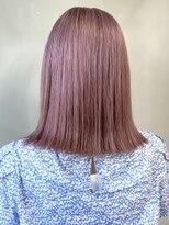 ソース ヘア アトリエ 京橋(Source hair atelier)ピンベージュ