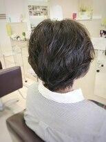 クール ヘアー ギャラリー 神明町店(COOL Hair gallery)美シルエット大人ショート☆パーマ