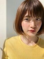 ガーデン ハラジュク(GARDEN harajuku)【鈴木ゆうすけ】フリンジバング × やわらかボブ