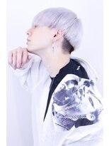 リップスヘアー 梅田アネックス(LIPPS hair)ホワイト韓流マッシュ