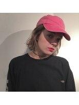ピープル(people)CAP × MILKTEA COLOR