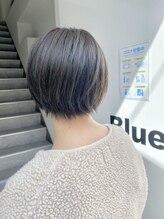 ブルー(Blue)爽やかショートスタイル