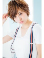 【Noah銀座】☆☆欧米風パーマでルーズ感漂うショートヘア☆☆☆