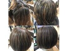 カルフール アメニタ ヘアー(carrefour AMENITE HAIR)の雰囲気(白髪染めは飽きた方なるべく伸びても目立たないように!!)