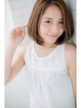 ローマヘアサロン(ROMA HAIR SALON)【ROMA】やっぱりシンプルなのが1番可愛い!大人ワンカールボブ