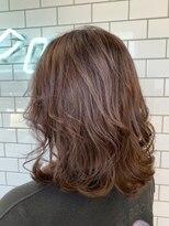ヘアーシー(HAIR C,)[HAIR C shoichi]ふわっと柔らかミディグレージュ
