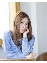 リノ ヘア 横浜西口店(RINO Hair)価格3400円《つるんとなめらかな質感のシルキーストレート》
