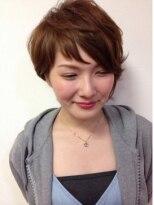 ヘアーアンドメイク ポッシュ 森下店(HAIR&MAKE POSH)アシメショートスタイル