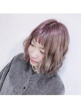 ゲリール 中野店(guerir hair+care)外ハネウェビーボブ