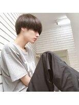 アクシー 渋谷店(AXY)サイドパートショートテクノクラウドマッシュセミウエット