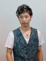 ふんわりカールのグラデショート【EARTH佐賀夢咲店】