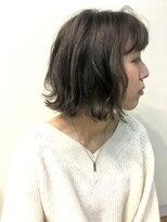 マハナ(Mahana by hair)*レイヤーボブパーマ*