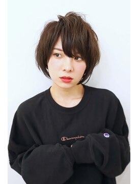 ロココ(hair design rococo)【rococo】ボーイッシュ×可愛いショートボブ
