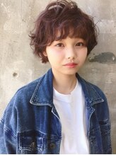 ガルボ ヘアー(garbo hair) garbohair springstyle