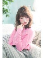 オーブ ヘアー ハラジュク 原宿店(AUBE HAIR harajuku)ラフな抜け感が可愛い☆海外風ふんわりスタイル
