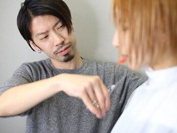 アミヘアーサプライ(AMI Hair Supply)の写真/《センター街/クレフィ横》ミルボンドDA/デザイナーズ賞受賞×有名雑誌のヘアメイクを多数担当する実力…☆