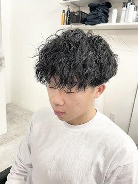 アブアイロス(LOSS)【stylist/shogo】somperm/ミドルツイスパ