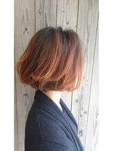 ヘアセラピー サラ(hair therapy Sara)ニュアンスボブ