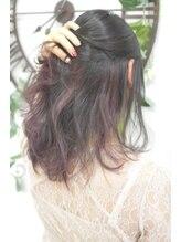 ヘアーサロン エール 原宿(hair salon ailes)(ailes原宿)style314 インナーカラー☆チェリーレッド